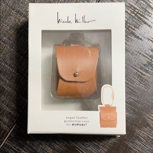 Nicole Miller AirPod Vegan Leather Carrying Case